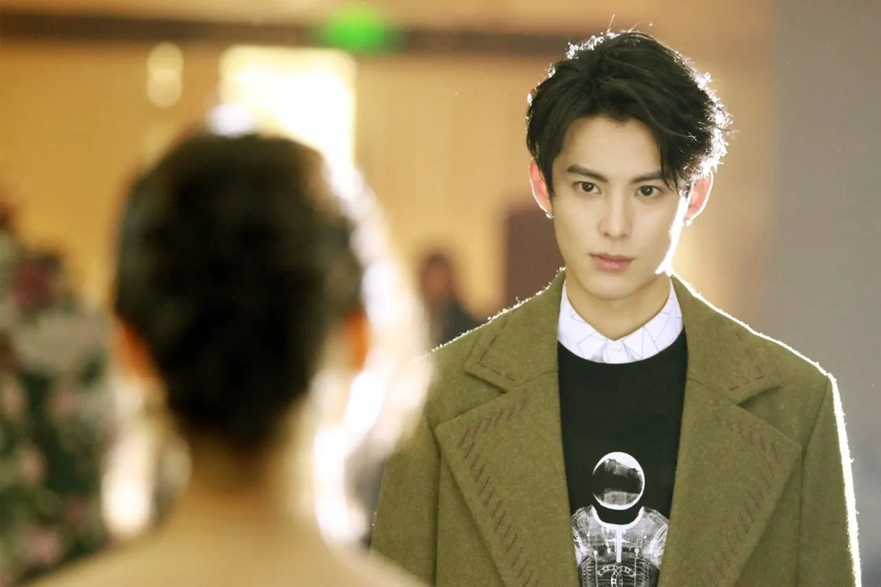 Image result for dao ming si meteor garden