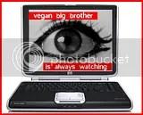 online,activism,online activism,vegan big brother,surveillence,vegan