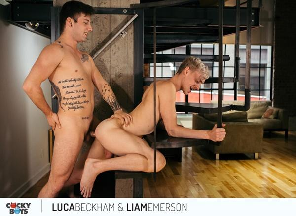 CockyBoys – Liam Emerson Rails Newcomer Luca Beckham