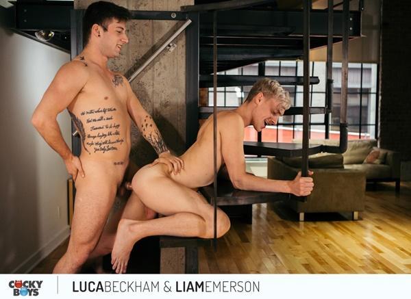 CockyBoys – Liam Emerson Rails Newcomer Luca Beckham