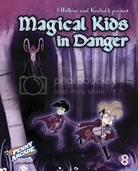 Penny Arcade 8 Magical Kids in Danger