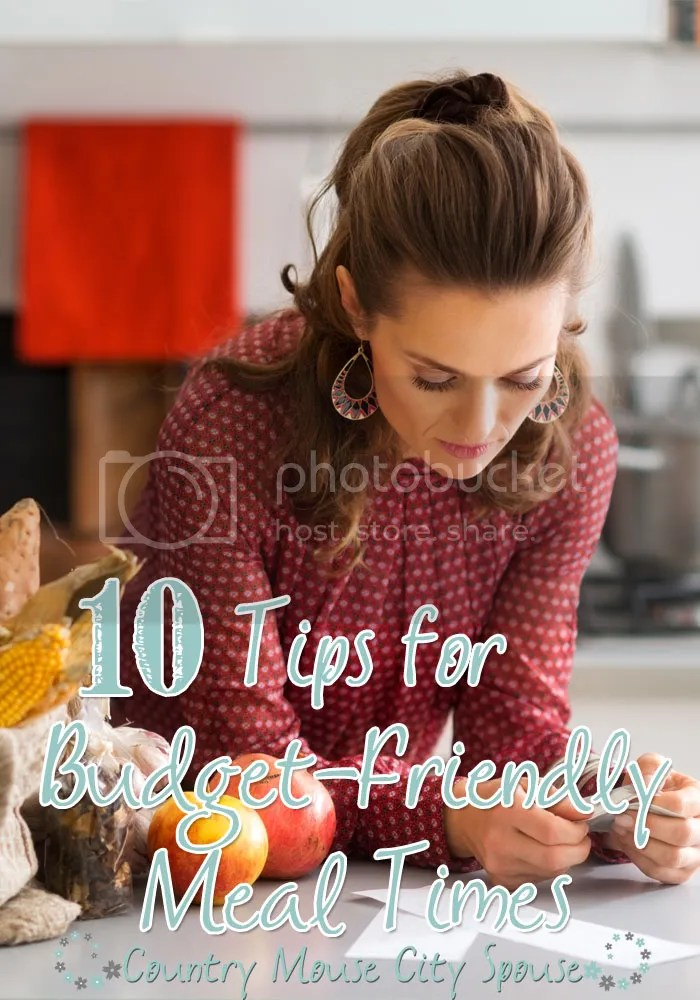 10 Tips for Budget-Friendly Meal Times: Country Mouse City Spouse