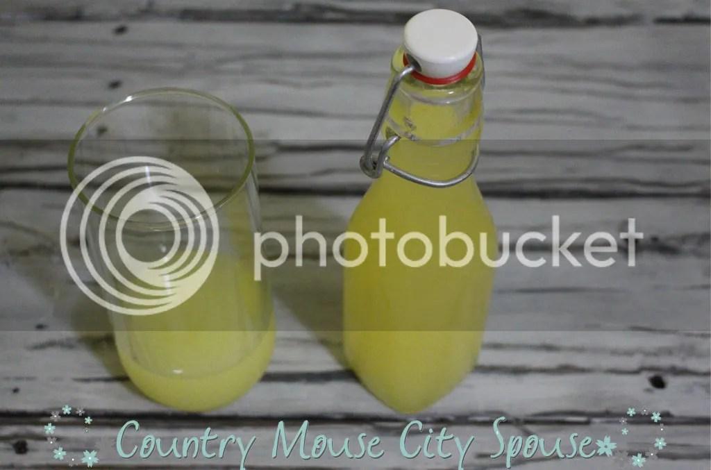 *Recipe* Homemade Limoncello- Country Mouse City Spouse
