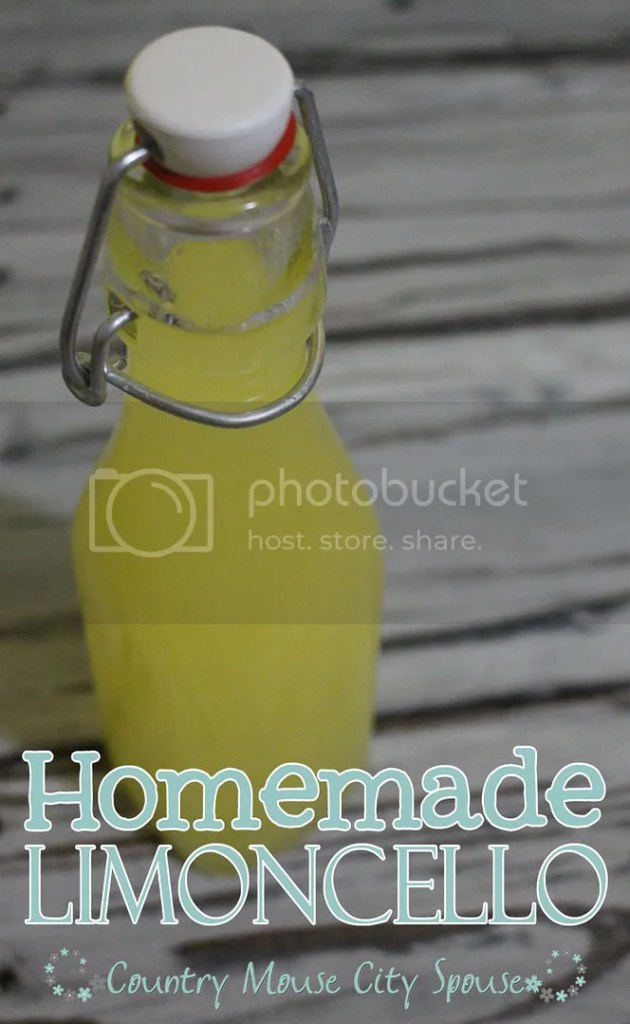 *Recipe* Homemade Limoncello- Country Mouse City Spouse