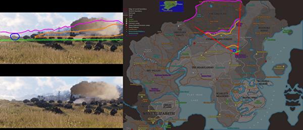 Red Dead Redemption 2, Rivelata la mappa di Red Dead Redempion 2?