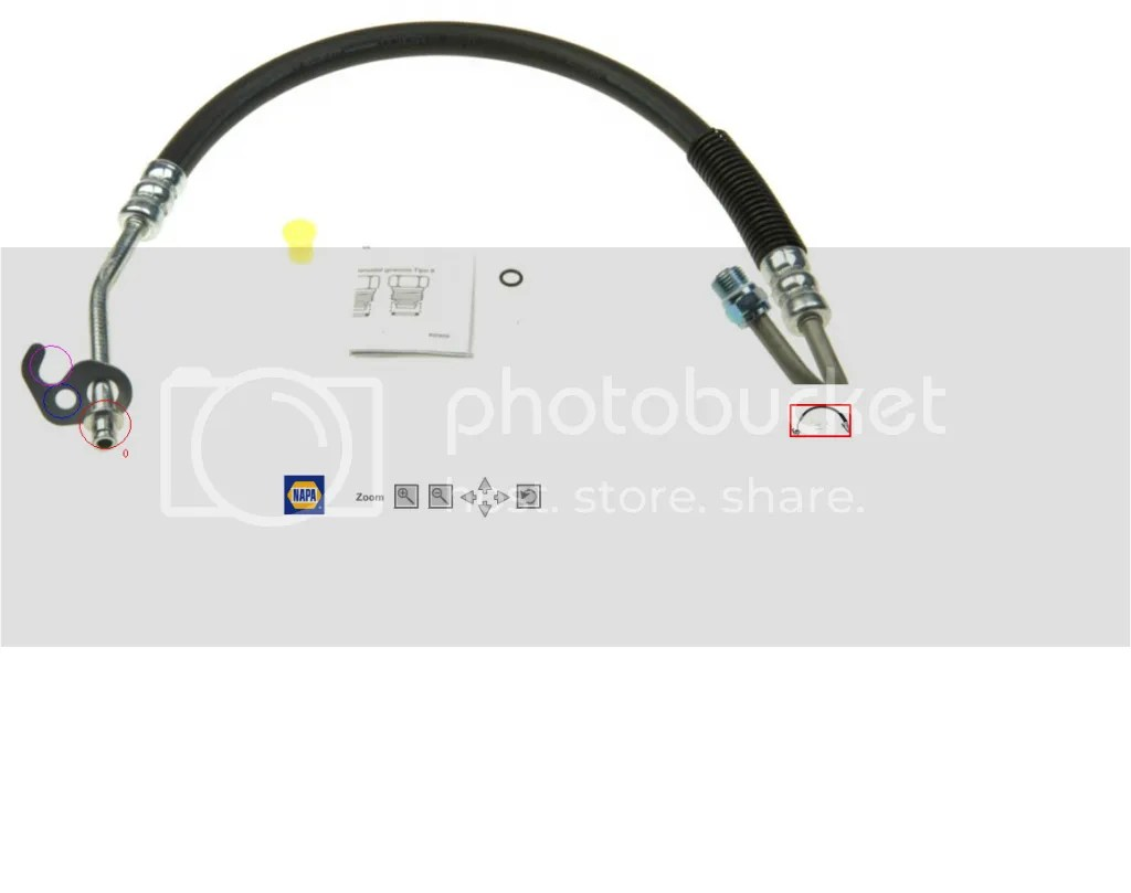 Power Steering Hose Help Ford Explorer And Ford Ranger Forums