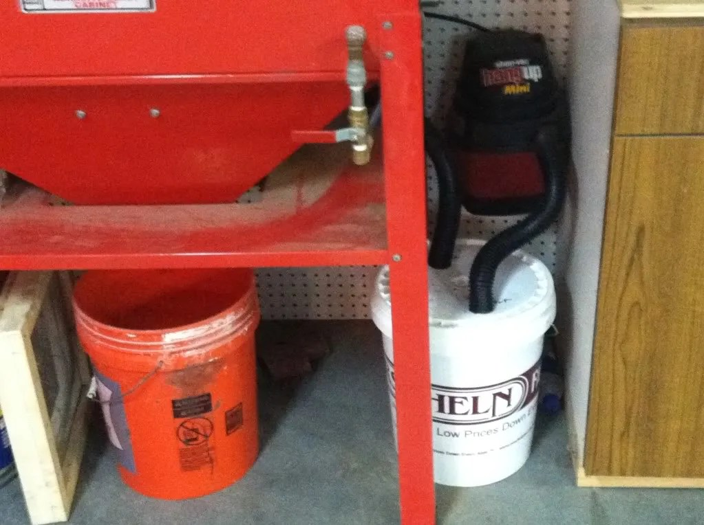 How To Make A Blast Cabinet Dust Separator