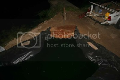 rock for waterfall in koi fish pond