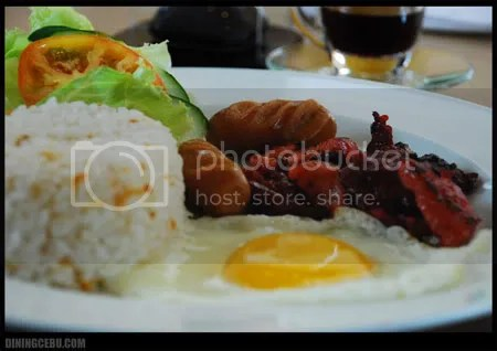 UCC Cafe Terrace Filipino Breakfast at the Terraces Ayala Cebu