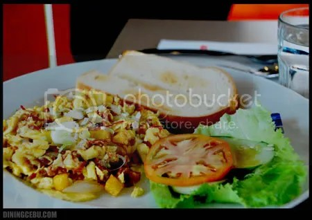 Cebu restaurant UCC Cafe Terrace breakfast special corned beef