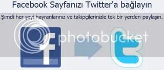 Facebook ve Twitter hesapları arası bağlantı kurmak