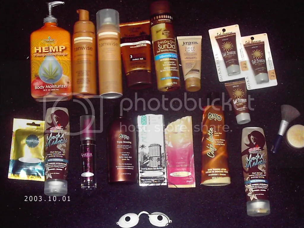 fake tanning lotions on ebay