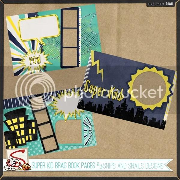Download Super Kid Brag Book Freebie