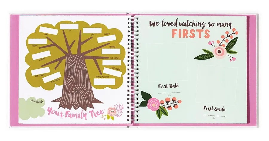 Coolest baby gifts of the year: Baby memory book from Lucy Darling   Cool Mom Picks Editors' Best