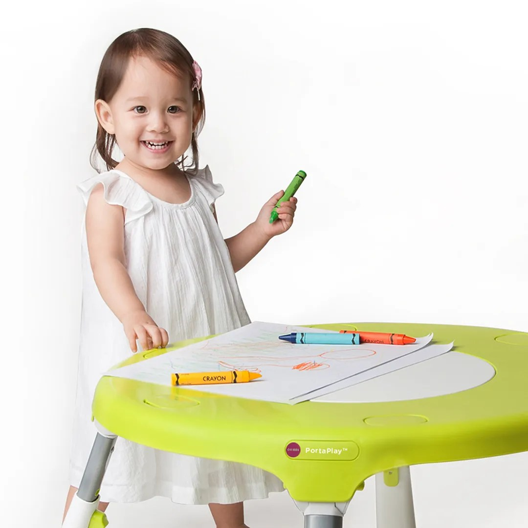 Oribel Portaplay Baby Activity Center Converts To Toddler Table