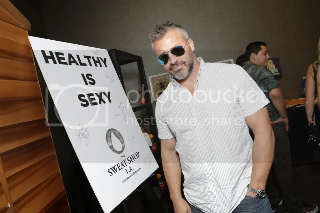 Matt LeBlanc The Sweat Shop LA