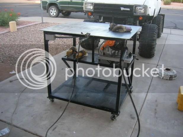 Diy Welding Table Plans Pdf Brokeasshome Com