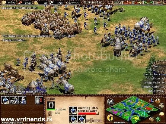 Age of Empires II : The Age of Kings & The Conquerors, Games vnfirends.tk