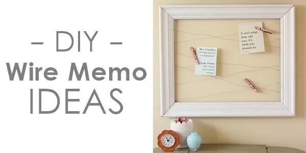 Simple Diy Memo Board Ideas Rosyscription