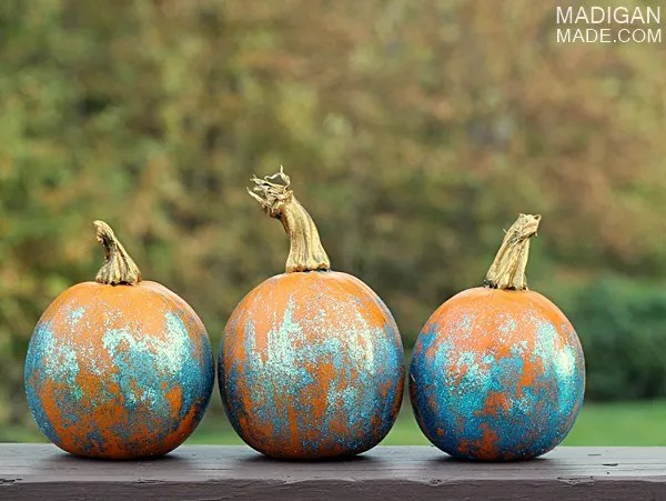 glitter pumpkin craft idea