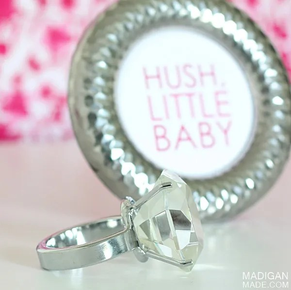 diamond ring decor idea