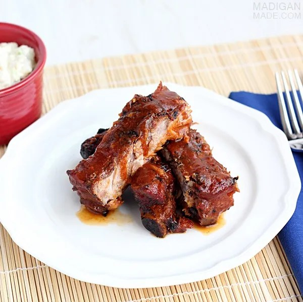 Simple and super easy BBQ rib recipe