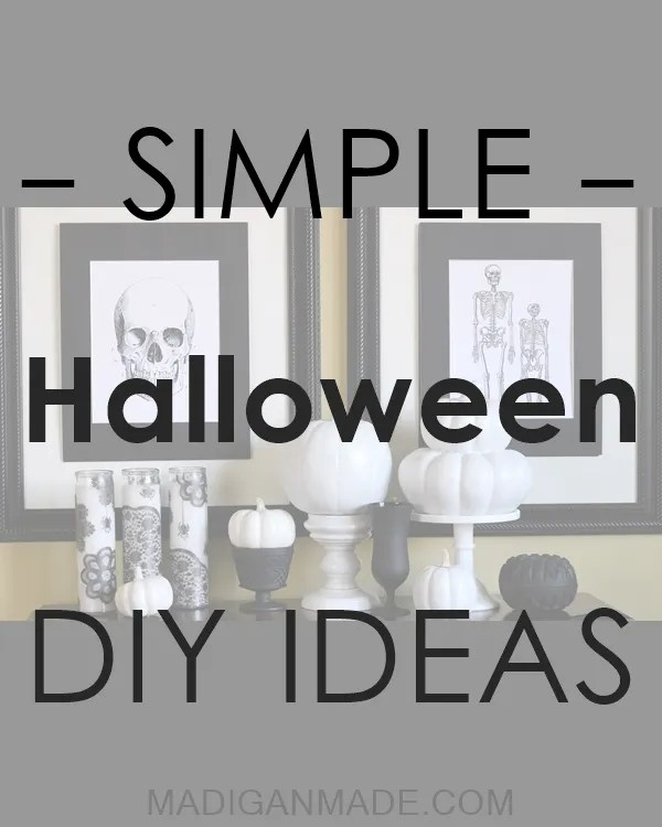 The Best in Simple Halloween DIY Ideas  - over 100+ ideas from creative bloggers!