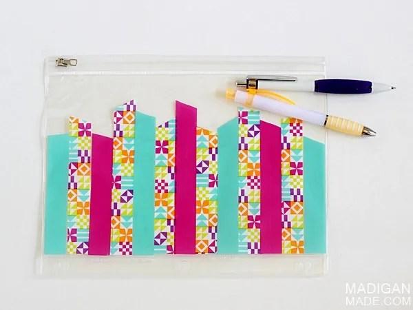 Simple DIY pencil case craft idea #ScotchBTS