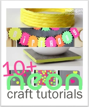 10 Simple Neon Craft Ideas Rosyscription