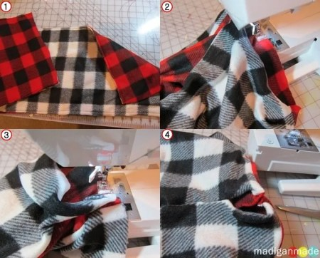 cowl scarf tutorial steps