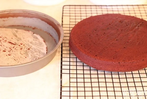 Recipe for Easy Chocolate and Peppermint Cake