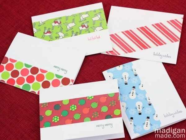 Duck tape handmade cards