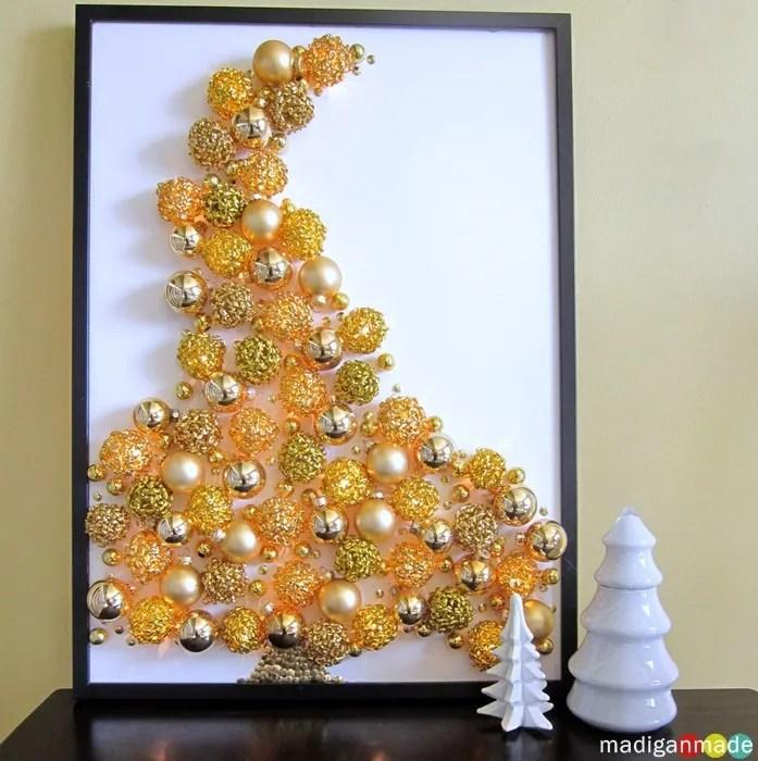 Christmas Tree Illuminated Wall Art