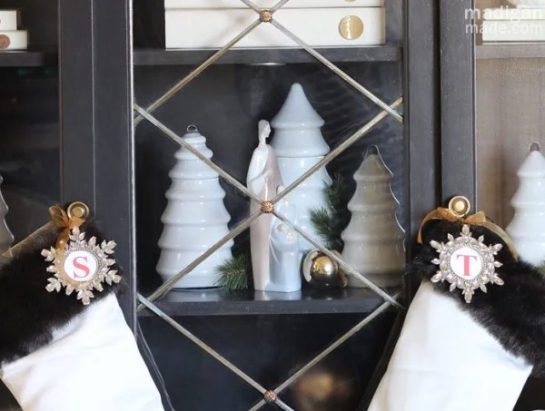 Simple and Easy Christmas Decorating Ideas - holiday home tour at madiganmade.com