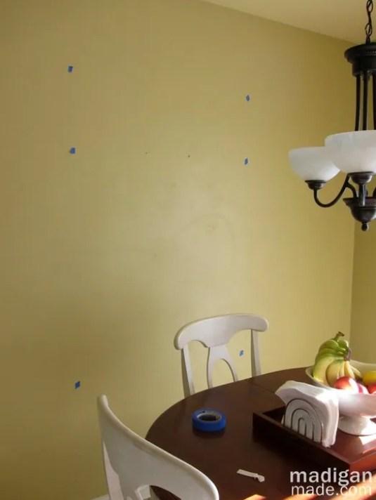 yellow kitchen wall