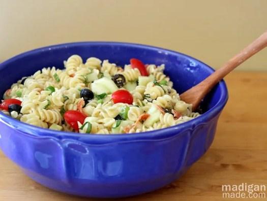 summer pasta side dish idea