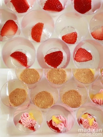 layered trifle miniature