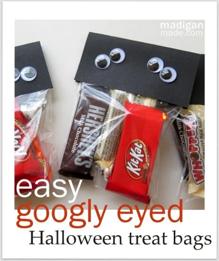 a simple googly eyed craft for halloween treats directions at madiganmadecom