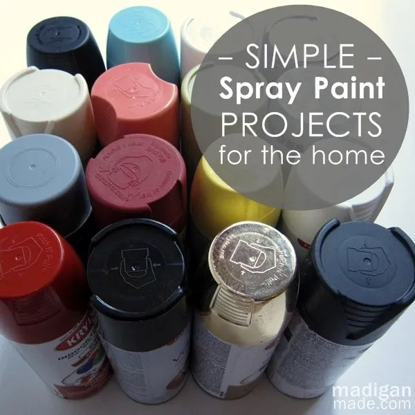 Spray Painting Ideas Part - 26: Simple Spray Painting Ideas For Your Home
