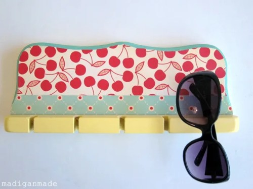 Sunglasses Holder from Spoon or Rod Rack