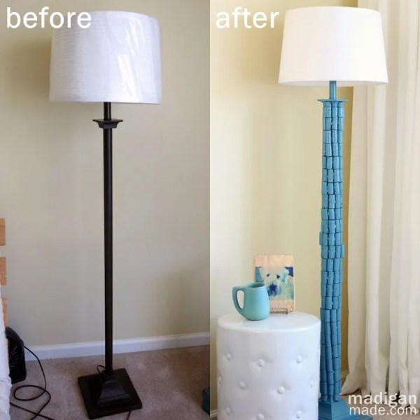 Diy lamp makeover with wine corks rosyscription diy lamp makeover with wine corks details at madiganmade aloadofball Images