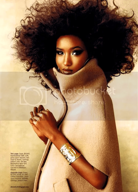 FATIMA SIAD FOR MARIE CLAIRE JULY 2010