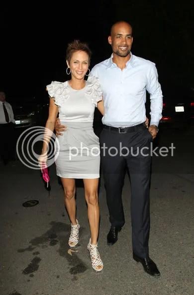 Boris Kodjoe & Nicole Ari Parker at Serena's Pre-ESPY Bash