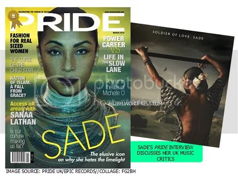 Sade Bites Back At Her UK Music Critics