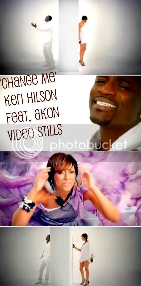Keri Hilson and Akon on Change Me