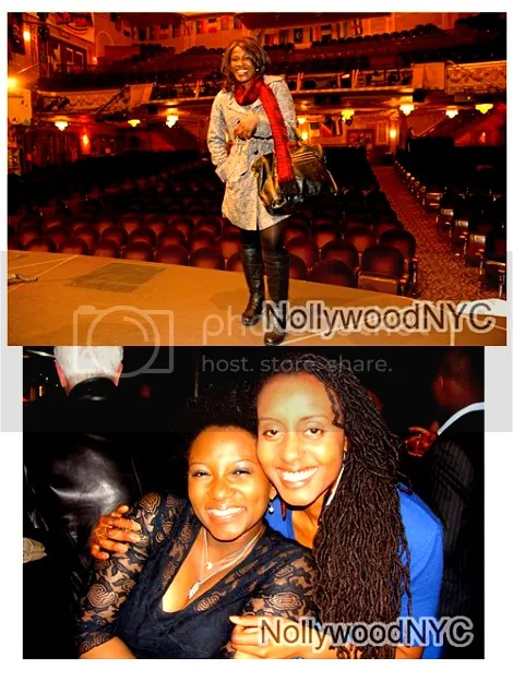 Ramsey Noah & Uche Jombo Spotted with Fela on Broadway Cast & Crew