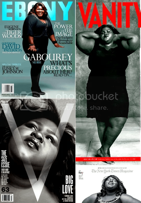 Gabby Sidibe Magazine Appearances