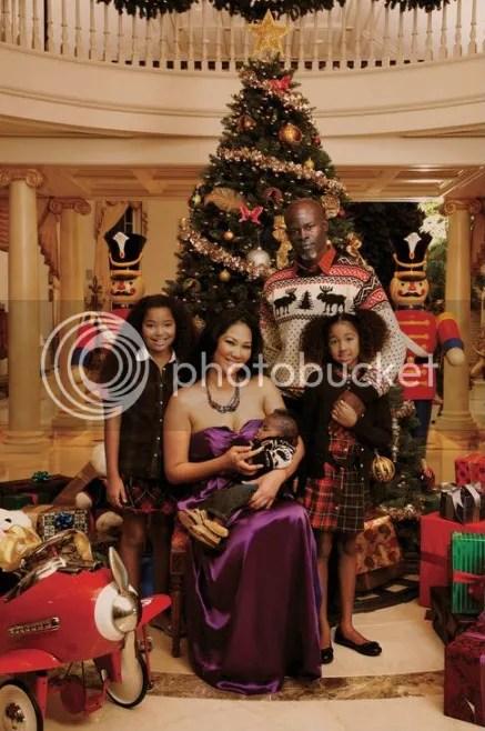Hounsou-Lee Family