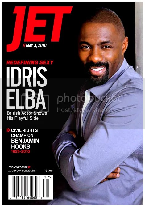 The Losers Movie Star Idris Elba Covers Jet
