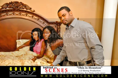 ini edo with the cast